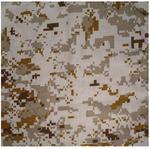 Zan B169D Bandanna 22x22 Digital Desert Camo