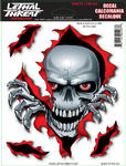 Lethal Threat LT90103 samolepka Peek A Boo Skull