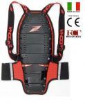 Zandona Spine X7 černo/červený dámský a dětský chránič páteře