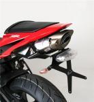Barracuda držák SPZ, zadní LED světlo - Honda CBR600RR 2007-2012