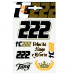 Tony Cairoli TC222 samolepky malé
