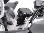 SW-Motech Odpružený držák GPS pro řídítka 22mm černý