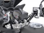 SW-Motech Odpružený držák GPS pro řídítka 28mm stříbrný