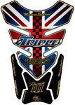 Motografix TT011UJ Quadpad Union Jack Triumph