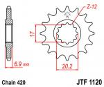 JT Sprockets JTF1120.15