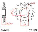 JT Sprockets JTF1182.15