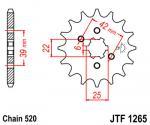 JT Sprockets JTF1265.16