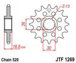 JT Sprockets JTF1269.17