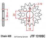 JT Sprockets JTF1310.15 SC