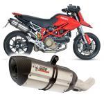 Mivv Suono nerez, carbon cap - Ducati Hypermotard 1100, do 2007
