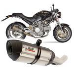 Mivv Suono nerez, carbon cap - Ducati Monster 1000, do 2003