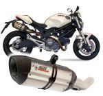 Mivv Suono nerez, carbon cap - Ducati Monster 696, do 2008