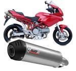 Mivv Oval titan, carbon cap - Ducati Multistrada 1000, do 2004