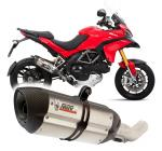 Mivv Suono nerez, carbon cap - Ducati Multistrada 1200, do 2010