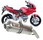 Mivv Oval Short titan - Ducati Multistrada 620, do 2005
