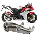 Mivv ghibli nerez - Honda CBR 600 F, do 2011