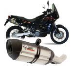 Mivv Suono nerez, carbon cap - KTM LC8 950 Adventure, 2003-2005