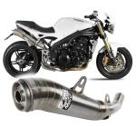 Mivv ghibli nerez - Triumph Speed Triple, 2007-2010