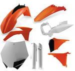 Acerbis plastový Full kit EXC / EXCF/12-13, replika