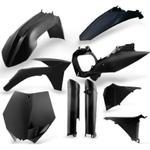 Acerbis plastový Full kit EXC / EXCF/12-13, černá