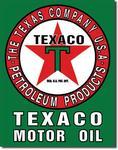 Cedule Texaco Motor Oil plechová cedule