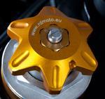 RDmoto FPA22 - Honda CBR 929/954 RR 00-03 zlatý eloxovaný hliník