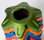 RDmoto FPA22 - Honda CBR 929/954 RR 00-03 zelený eloxovaný hliník
