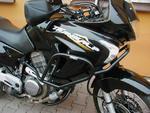 RDmoto padací rámy černé - Honda XLV 650 Transalp 00-07
