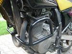 RDmoto padací rámy černé - Suzuki DR 650 SE