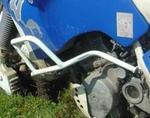 RDmoto padací rámy bílé - Suzuki DR750 Big
