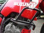 RDmoto padací rámy černé - Suzuki DR750 Big