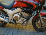 RDmoto padací rámy černé matné - Yamaha TDM 850