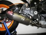 RP výfukový systém Kompletní výfukový systém Inox, tlumič ovál carbon titan, Honda CBR 1000 RR 08-15
