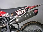 RP výfukový systém Inox, tlumič ovál carbon Inox Racing Style, Husqvarna TC 250 10-13