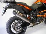 RP slip-on kužel carbon titan, KTM 1190 Adventure R 13-15