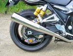RP slip-on kužel nerez lesk, Yamaha XJR 1300 07-13