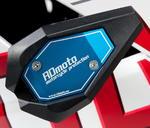 RDmoto SL01 rámové padací slidery - Kawasaki ZX-250R Ninja 08- modrý eloxovaný hliník