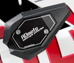RDmoto SL01 rámové padací slidery - Kawasaki ZX-250R Ninja 08- černý eloxovaný hliník