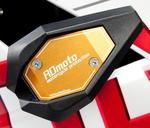 RDmoto SL01 rámové padací slidery - Kawasaki ZX-250R Ninja 08- zlatý eloxovaný hliník