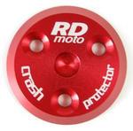 RDmoto PM1 protektory uchycení na motor - Suzuki GSR 600 06- červený eloxovaný hliník