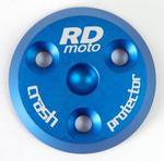 RDmoto PM1 protektory uchycení na motor - Suzuki GSR 600 06- modrý eloxovaný hliník