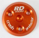 RDmoto PM1 protektory uchycení na motor - Suzuki GSR 600 06- oranžový eloxovaný hliník