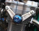 RDmoto PM2 protektory uchycení na motor - Suzuki GSF 600 BANDIT 95-04