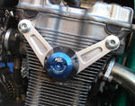 RDmoto PM2 protektory uchycení na motor - Suzuki GSX 750 INAZUMA