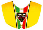 Motografix TD009Y Italia Shield yellow - Ducati 999/749