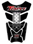 Motografix TT010KR Quadpad Triumph black/red