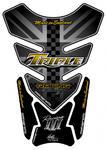 Motografix TT013KS Uninon Jack silver/gold
