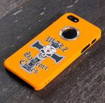 Back Cover For Iphone 5, orange