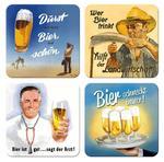 Coasters Wer Bier Ttrinkt