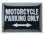 Metal Sign Motorcycle